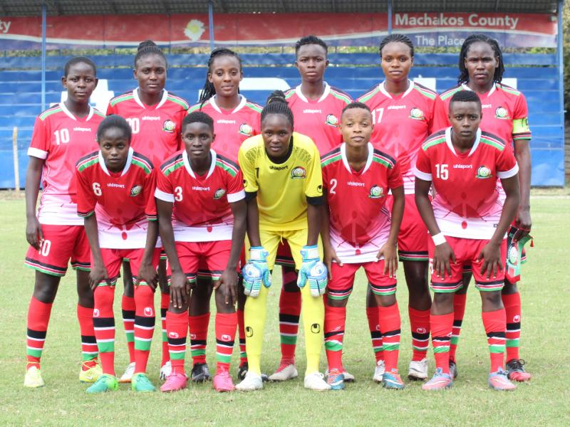 Harambee Starlets starting lineup for CECAFA opening match against Ethiopia