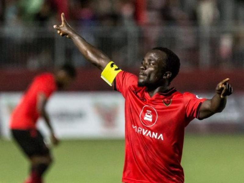 Phoenix Rising's Solomon Asante takes his league goal tally to 20 this season