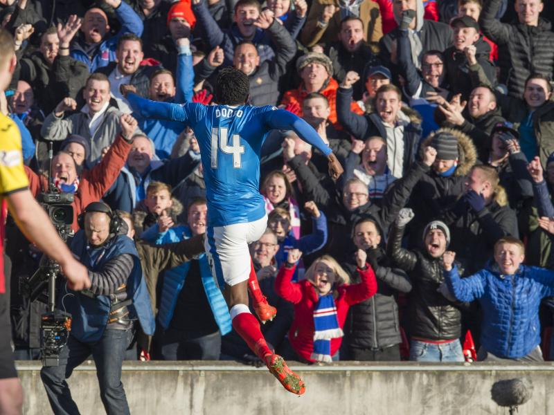 Former Leicester City striker Joe Dodoo exits Rangers by mutual consent