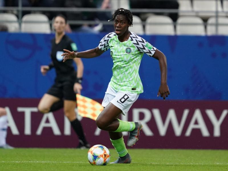 Oshoala explains why Super Falcons could not rout Algeria in Lagos