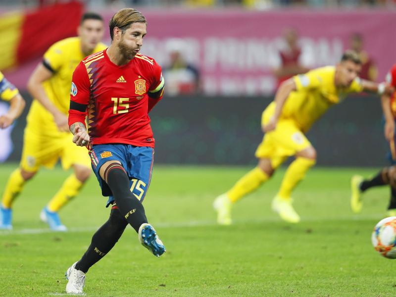 Euro 2020: 10-man Spain hold on to beat Romania, Italy win to maintain 100 percent record