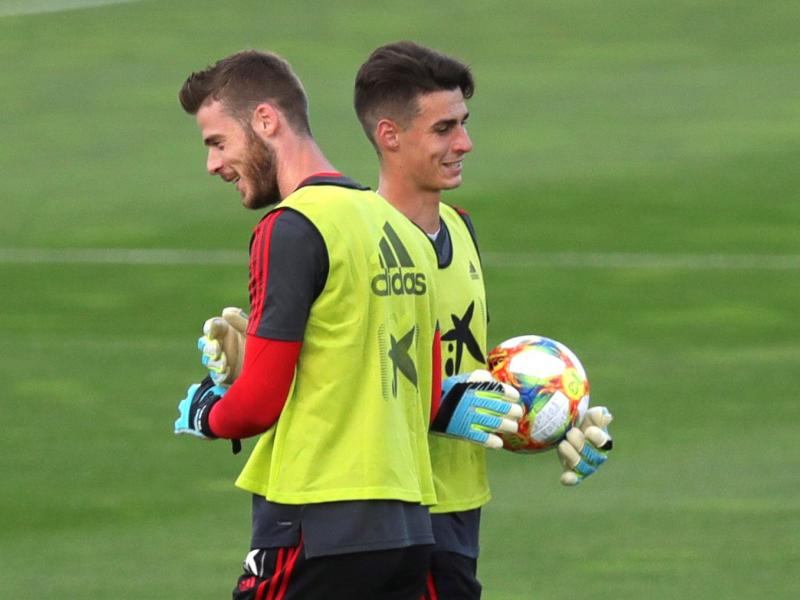 Arrizabalaga on his rivalry with Man United's David de Gea