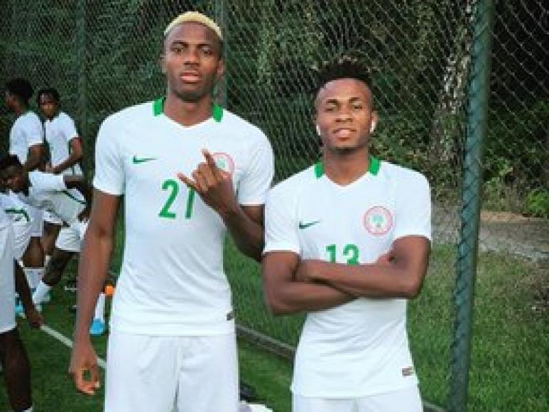 Chukwueze, Osimhen ready for friendly against Ukraine