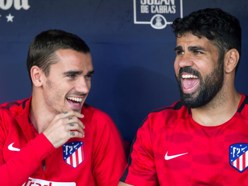 Diego Costa reveals why Antoine Griezmann left Atlético Madrid