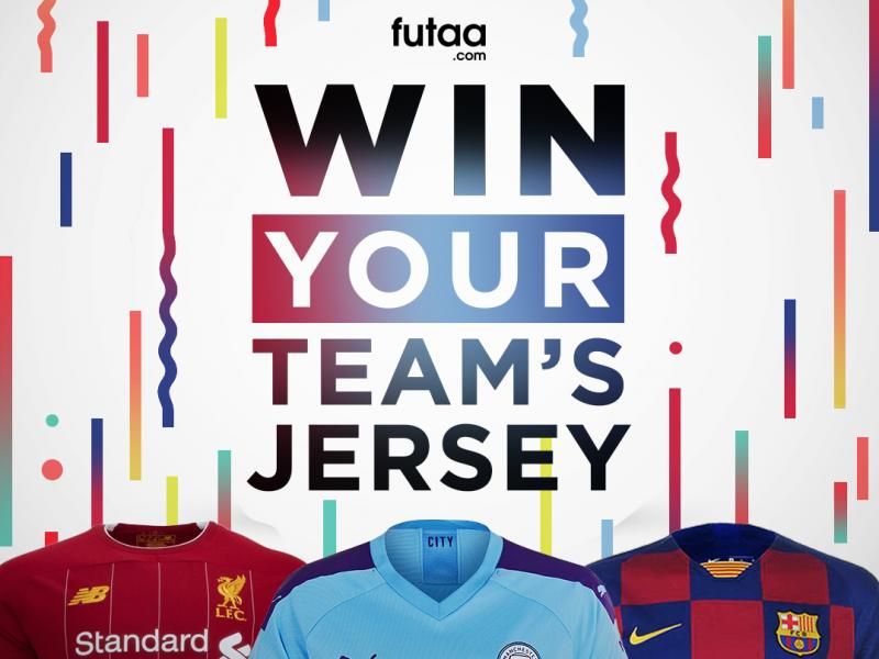 🎉👕 WIN your favourite football jersey with Futaa's exciting competition