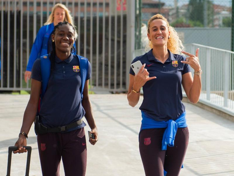 Nigerian striker Oshoala named in Barcelona Champions League squad