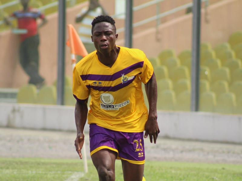 Asante Kotoko set to offer Medeama's Justice Blay permanent contract