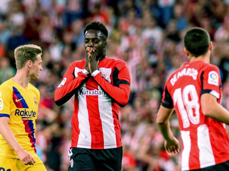 Inaki Williams confirms Manchester United transfer speculation