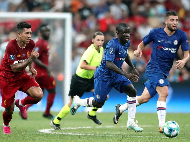 Kante resumes training ahead of Liverpool clash