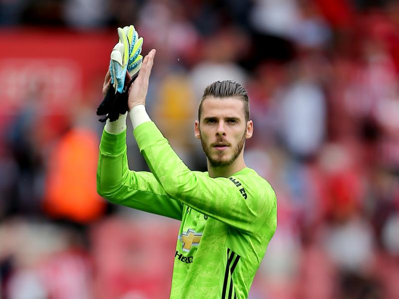 Edwin van der Sar offers advice to David de Gea over his Manchester United future