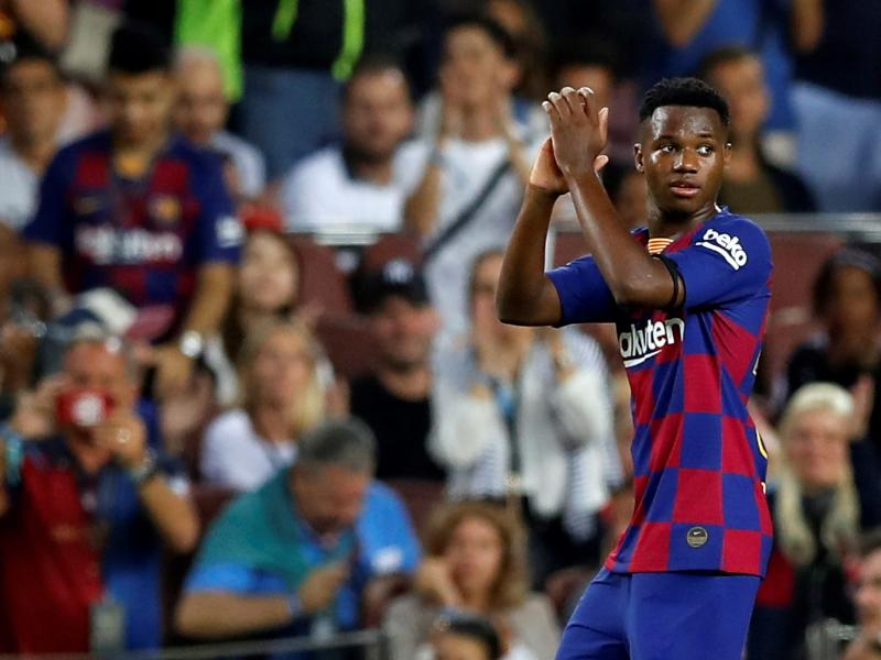 Take a bow: Fati Ansu shines once again as Barcelona put five past Valencia