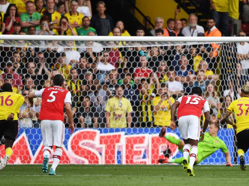 Spirited Watford pulls two goals back to hold Arsenal