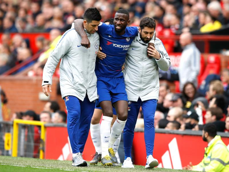 Lampard provides injury update on Rudiger following setback against Wolves
