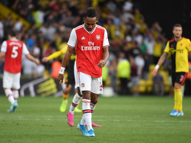 Pierre-Emerick Aubameyang slams Arsenal defense after Watford draw