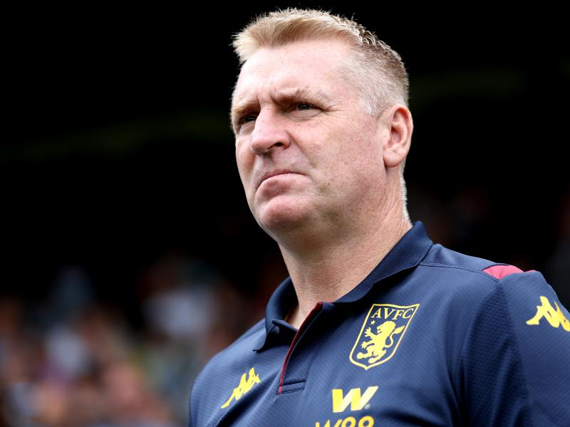 Dean Smith admits Aston Villa are looking for another striker