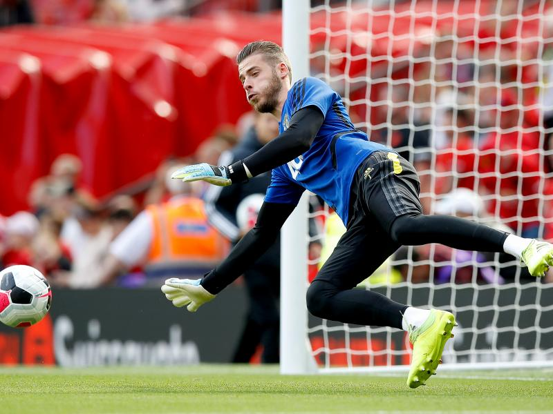 Ole Gunnar provides injury update on De Gea ahead of Liverpool tie
