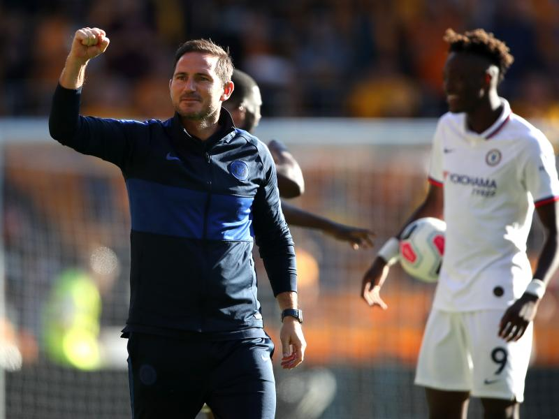 Lampard hints at starting roles for his young guns in Champions League clash