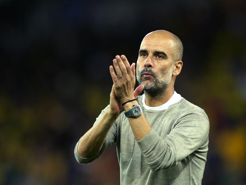 Pep Guardiola lauds five Manchester United players after second leg defeat