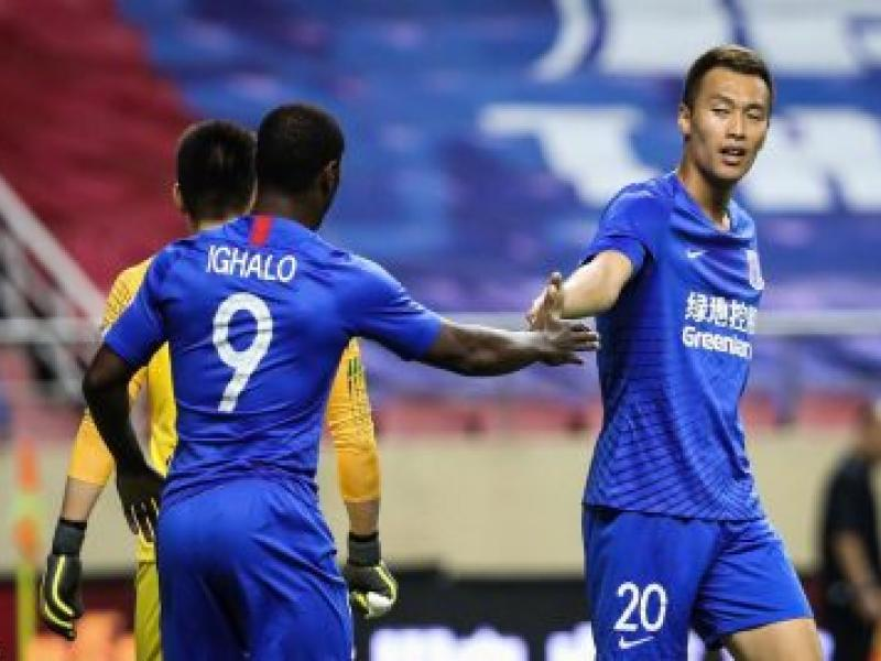 Ighalo makes Shanghai Shenhua return after two months