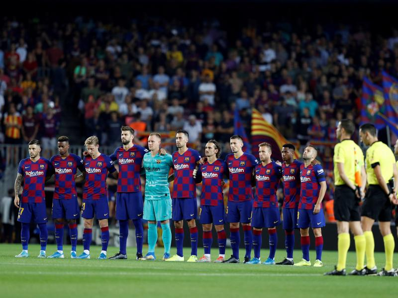 Lionel Messi named on the bench as Barcelona and Borussia Dortmund reveal line ups