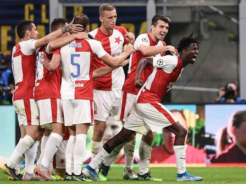 Slavia Prague hail Peter Olayinka for getting international call-up
