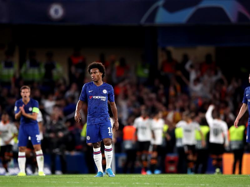 Chelsea Willian opens up on penalty disagreement during Valencia defeat