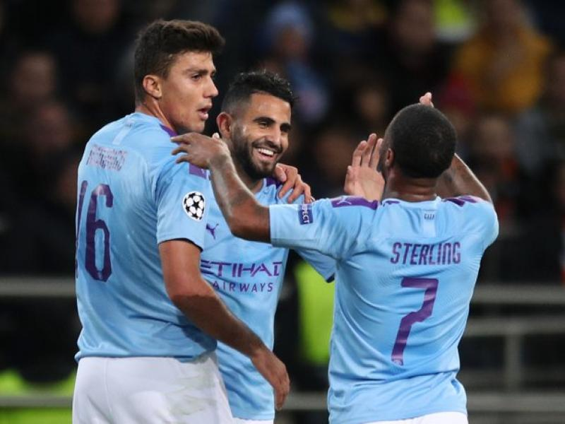 UCL: Mahrez the main man as Manchester City rout Shakhtar Donetsk