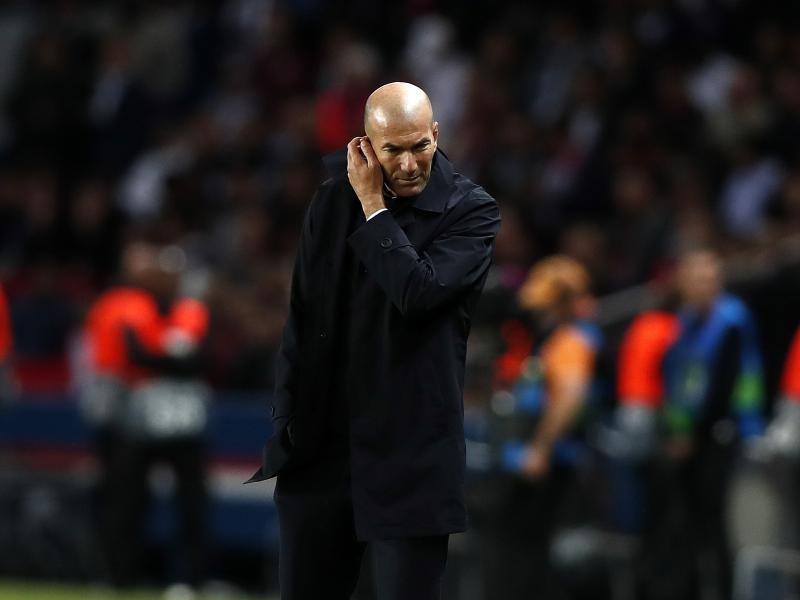 Zinedine Zidane reacts to speculation Jose Mourinho will replace him at Real Madrid