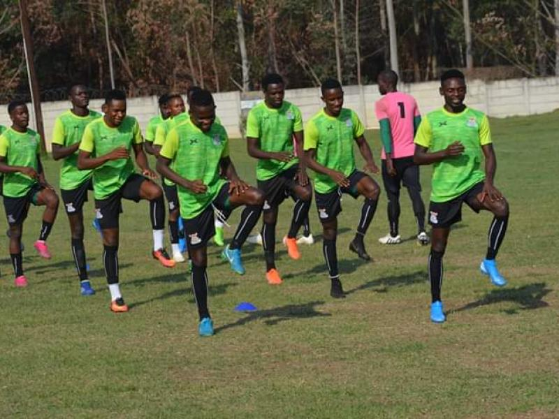 CHAN 2020 Qualifiers: Zambia hold first training session in Eswatini