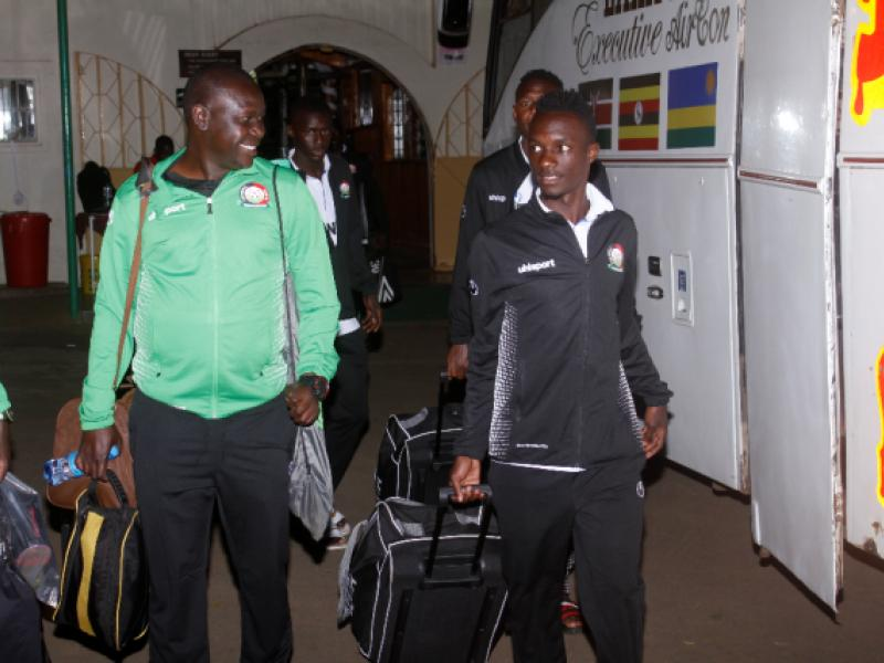 Rising Stars arrive safely in Uganda, ready for CECAFA tournament