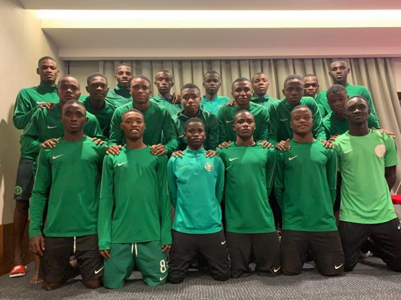 Golden Eaglets beat Korea in pre-World Cup match