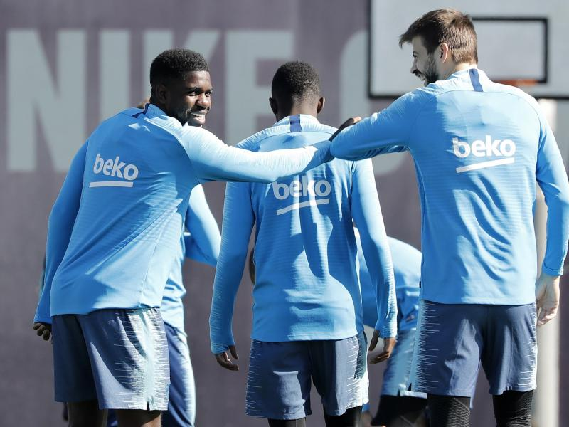 Barcelona looking to sell Samuel Umtiti in January