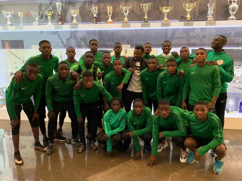 UEFA/CAF U17 tourney: Golden Eaglets succumb to Senegal's strong second half show