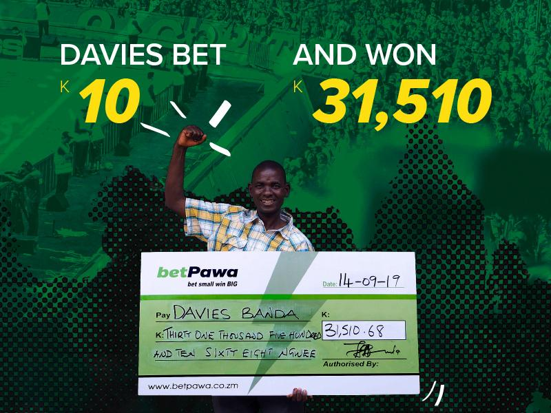 Zambian football bettor converts K10 stake into K31,510.68
