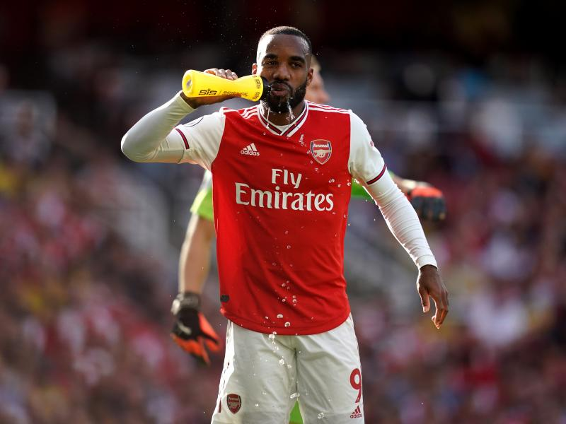 Arsenal forward Lacazette resumes full training