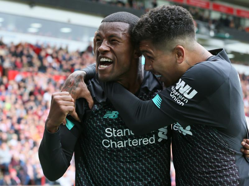 Gini Wijnaldum claims Liverpool can emulate Arsenal to become invincibles