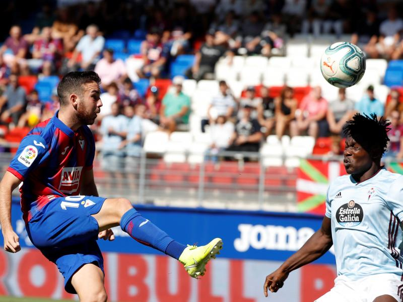 Joseph Aidoo plays full game in Celta Vigo's 2-0 loss to Eibar