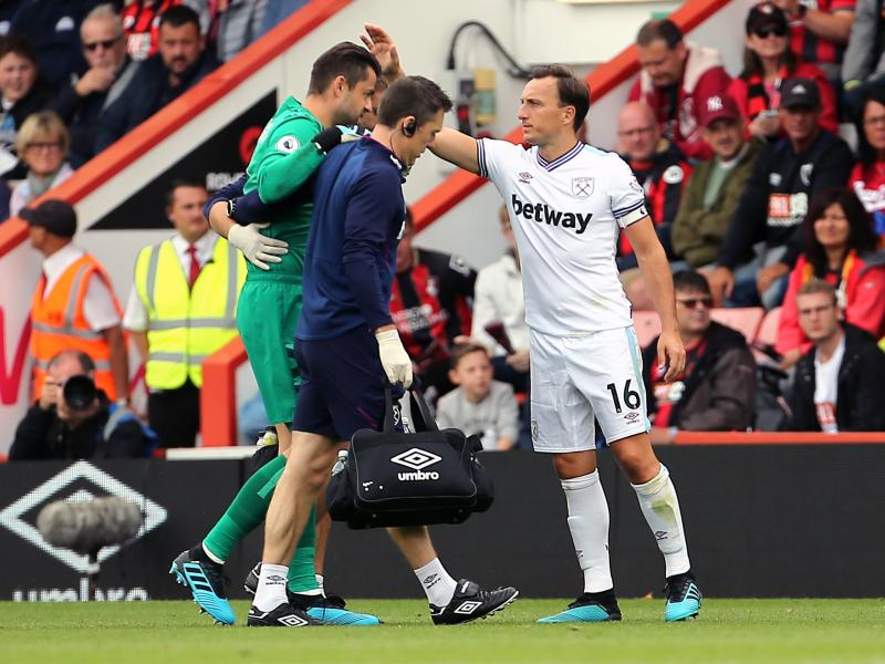 🤕 West Ham goalkeeper Lukasz Fabianski set to be on the sidelines for two months