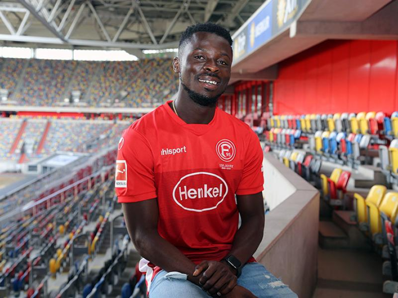 Nana Ampomah makes official league debut for Fortuna Dusseldorf