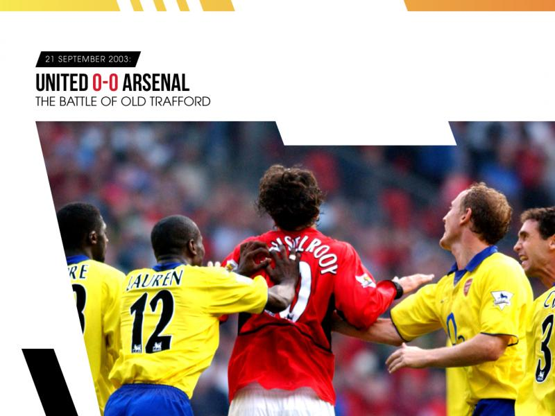 🤺 Man United vs Arsenal: Five classic clashes from Old Trafford to whet the appetite