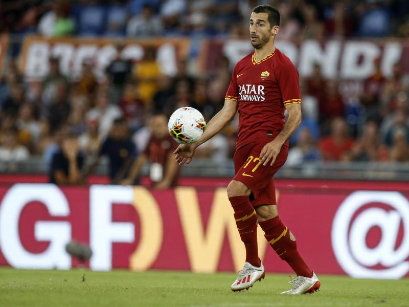 AS Roma coach claims Arsenal loaned out an injured Henrikh Mkhitaryan