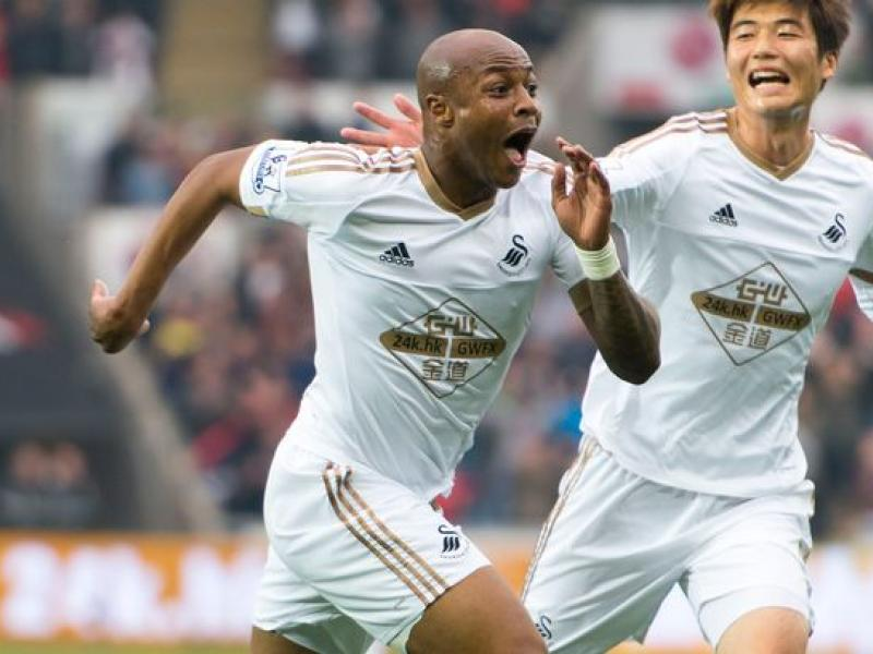 Andre Ayew opens his account for Swansea City as they secure 2-1 win over Charlton Athletic