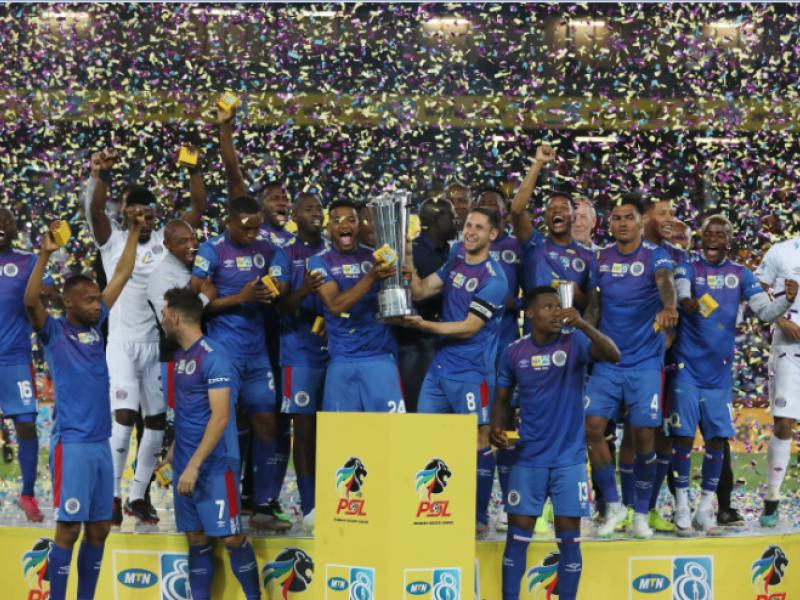 🇿🇦🏆 SuperSport United crowned MTN 8 champions!