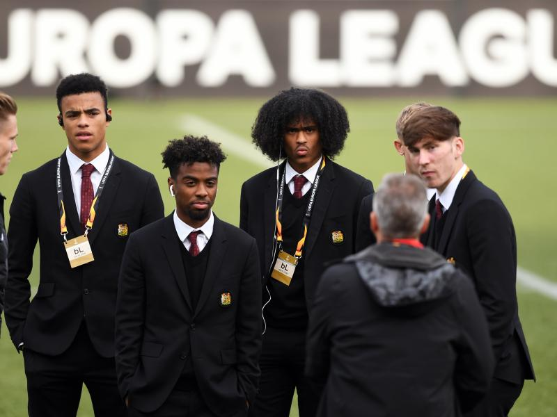 Angel Gomes pens emotional message to Manchester United