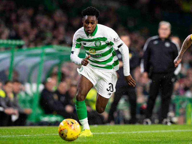 Celtic's Jeremie Frimpong on not allowing racial abuse to ruin football for him