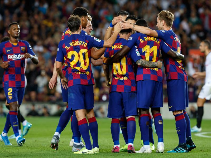 Revealed: Barcelona squad to take on Slavia Prague