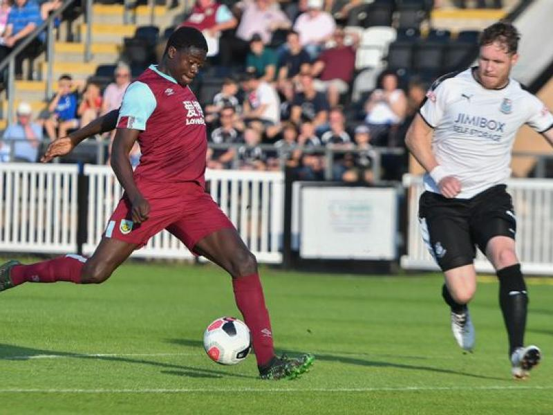 Joel Mumbongo says he is ready to hit the ground running at Burnley