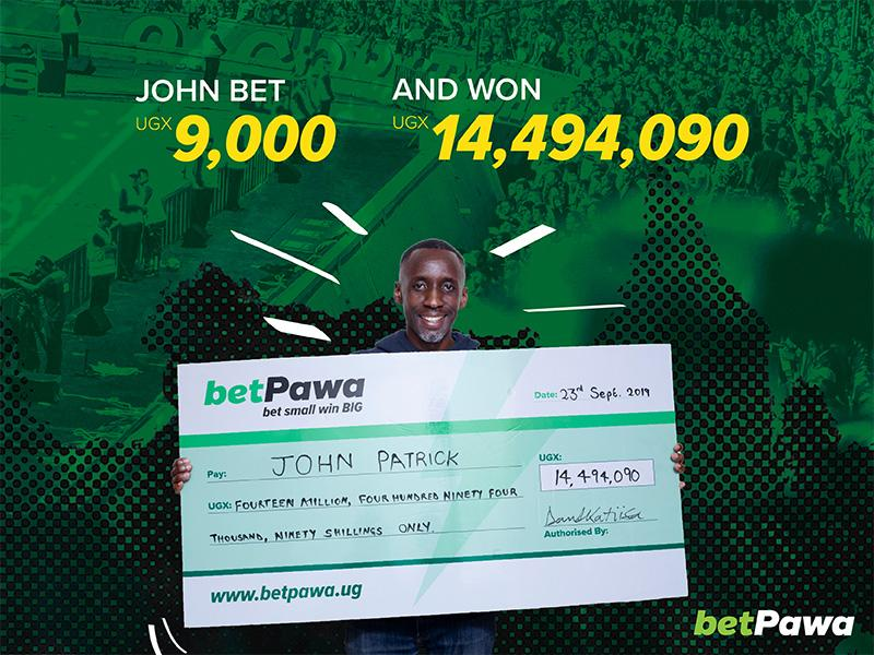 John Patrick wins UGX 14,494,090 despite shock Barcelona defeat