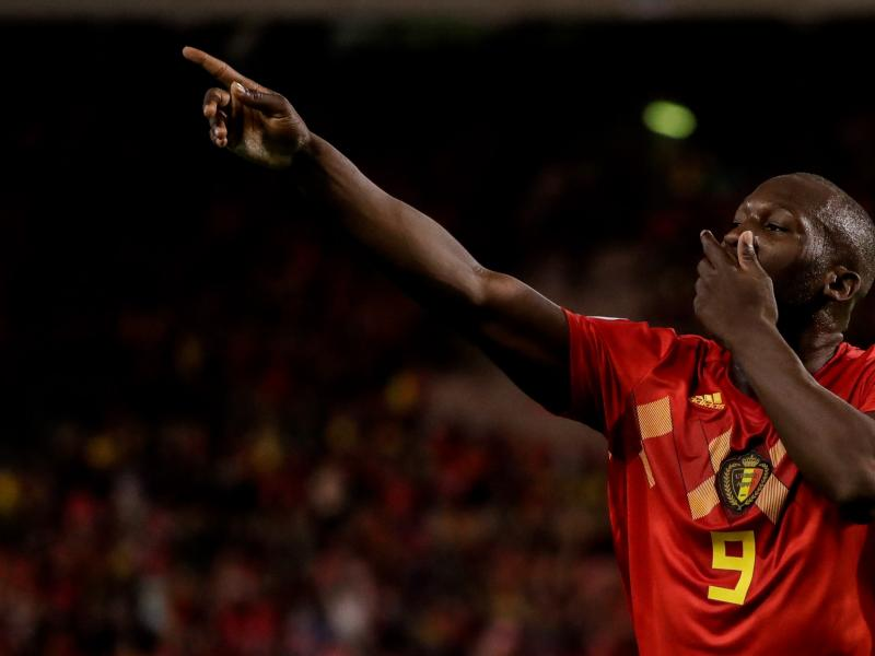 Romelu Lukaku sets new Belgium record