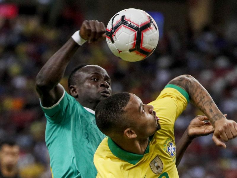 Brazil 1-1 Senegal: Super Eagles spy on Samba Boys